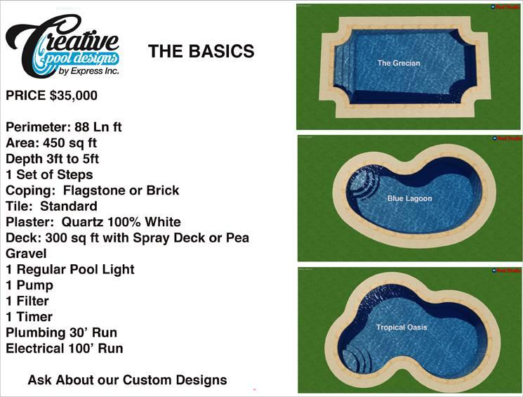 creative pool designs