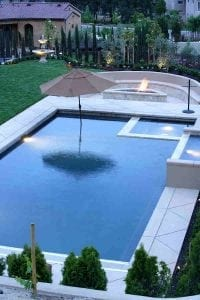 A Fire Feature For Your Pool