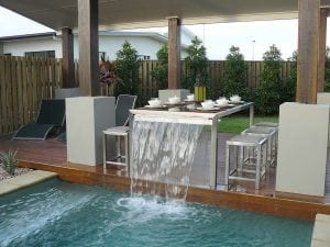 A Pool Company in Houston That Features Water Designs