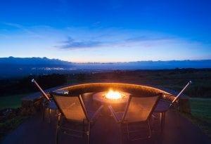 Smoke-Free Fire Pit